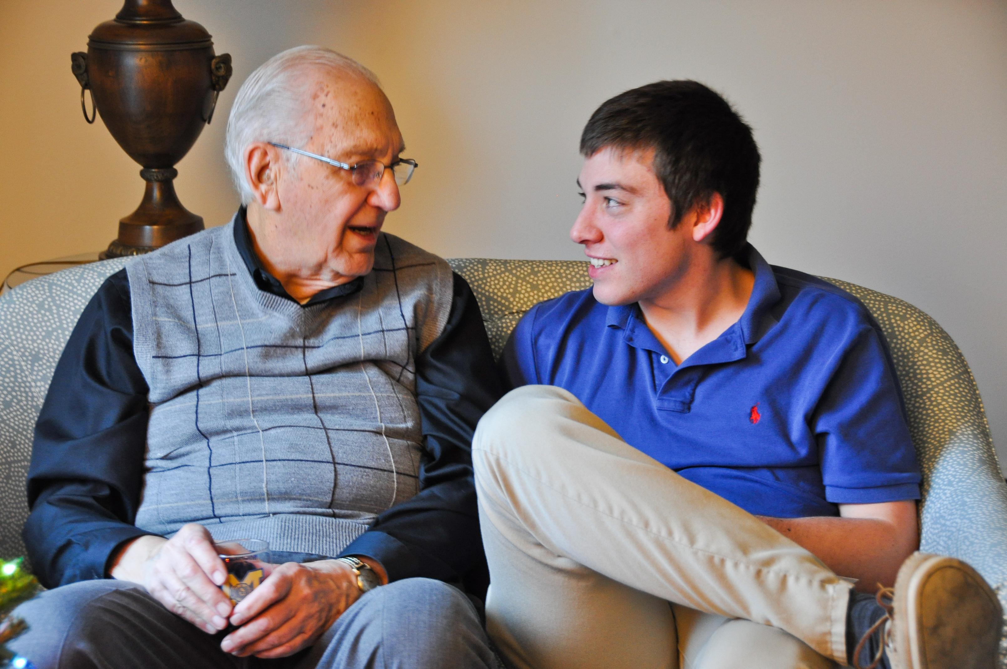 Austen&Grandpa